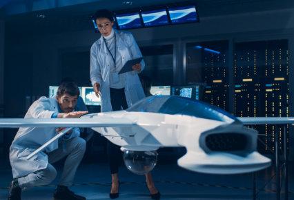 Meeting of Aerospace Engineers Working On Unmanned Aerial Vehicle