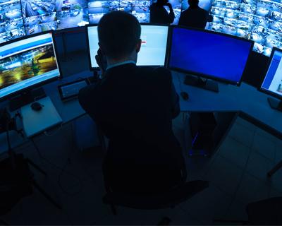 CCTV Security Room