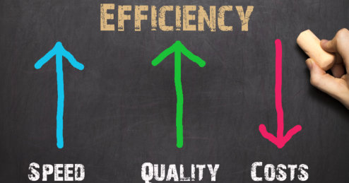 Efficiency Business Concept.