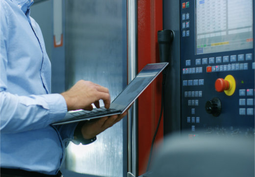 Chief Engineer/ Operator Programs/ Sets-up CNC Machine with Control Panel.