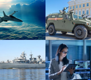 military collage